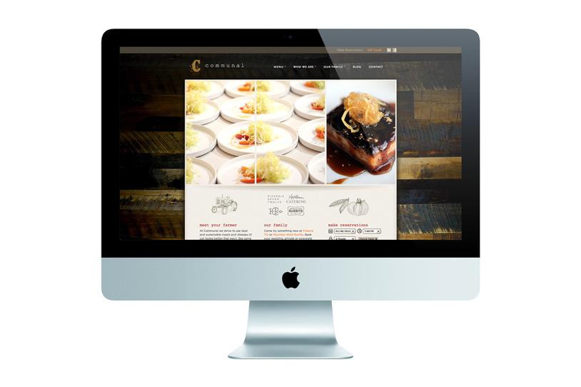 Carousel 3communal website computer